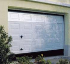 Porte de garage sectionnelle motoris e installation sur for Garage hyundai salon de provence